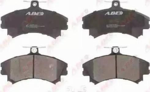 ABE C15036ABE - Kit de plaquettes de frein, frein à disque www.widencarpieces.com