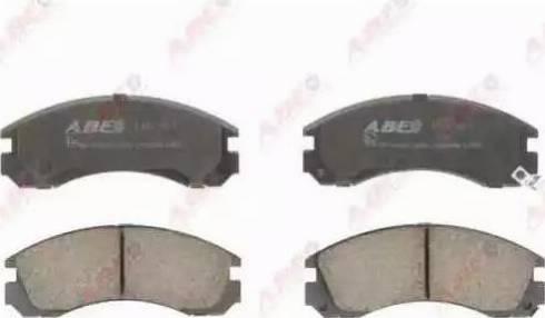 ABE C15031ABE - Kit de plaquettes de frein, frein à disque www.widencarpieces.com