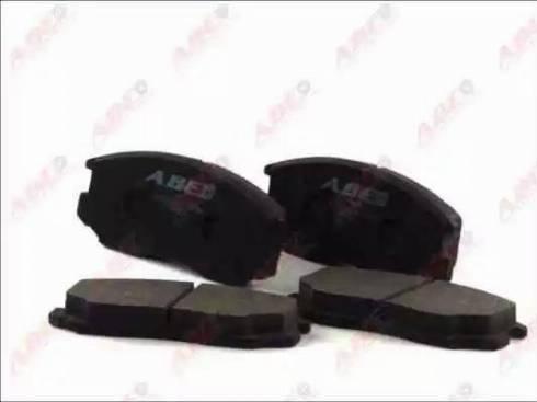 ABE C15032ABE - Kit de plaquettes de frein, frein à disque www.widencarpieces.com