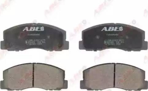 ABE C15025ABE - Kit de plaquettes de frein, frein à disque www.widencarpieces.com