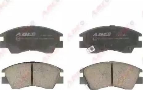 ABE C15027ABE - Kit de plaquettes de frein, frein à disque www.widencarpieces.com