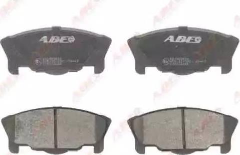 ABE C16012ABE - Kit de plaquettes de frein, frein à disque www.widencarpieces.com