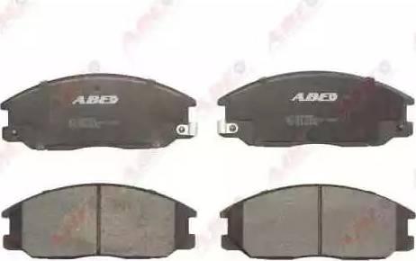 ABE C10509ABE - Kit de plaquettes de frein, frein à disque www.widencarpieces.com