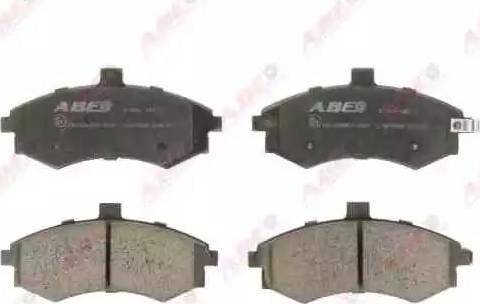 ABE C10515ABE - Kit de plaquettes de frein, frein à disque www.widencarpieces.com