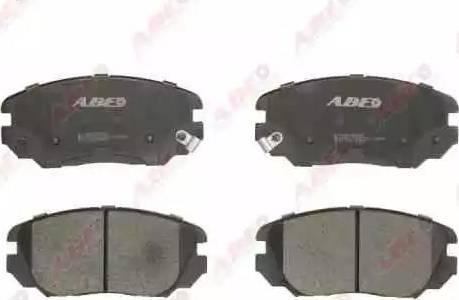 ABE C10517ABE - Kit de plaquettes de frein, frein à disque www.widencarpieces.com