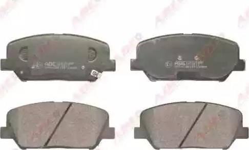 ABE C10531ABE - Kit de plaquettes de frein, frein à disque www.widencarpieces.com