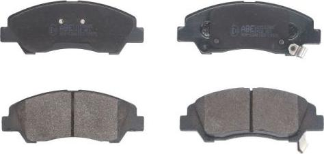 ABE C10532ABE - Kit de plaquettes de frein, frein à disque www.widencarpieces.com