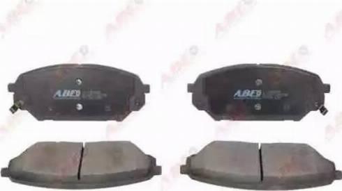 ABE C10526ABE - Kit de plaquettes de frein, frein à disque www.widencarpieces.com