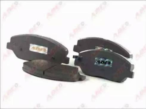 ABE C10521ABE - Kit de plaquettes de frein, frein à disque www.widencarpieces.com