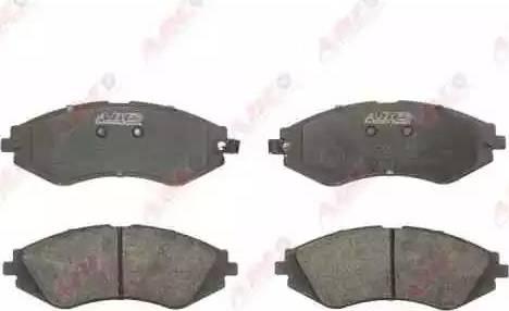 ABE C10003ABE - Kit de plaquettes de frein, frein à disque www.widencarpieces.com