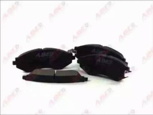 ABE C10014ABE - Kit de plaquettes de frein, frein à disque www.widencarpieces.com