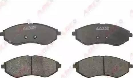 ABE C10013ABE - Kit de plaquettes de frein, frein à disque www.widencarpieces.com
