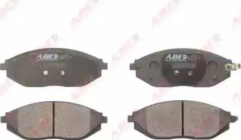 ABE C10024ABE - Kit de plaquettes de frein, frein à disque www.widencarpieces.com