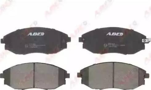 ABE C10021ABE - Kit de plaquettes de frein, frein à disque www.widencarpieces.com