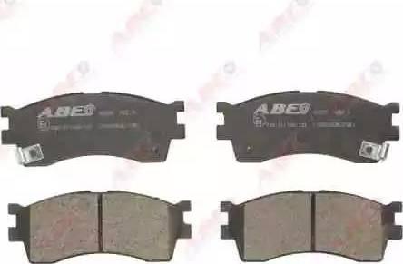ABE C10303ABE - Kit de plaquettes de frein, frein à disque www.widencarpieces.com
