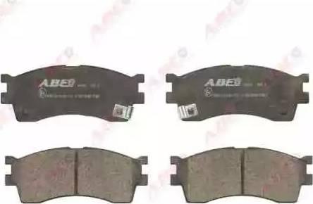 ABE C10319ABE - Kit de plaquettes de frein, frein à disque www.widencarpieces.com