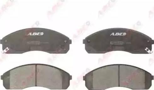 ABE C10316ABE - Kit de plaquettes de frein, frein à disque www.widencarpieces.com