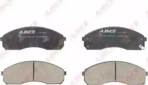 ABE C10318ABE - Kit de plaquettes de frein, frein à disque www.widencarpieces.com