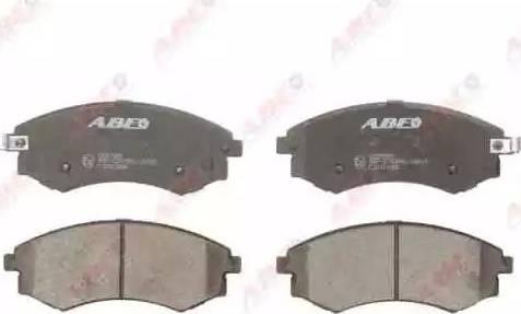 ABE C10313ABE - Kit de plaquettes de frein, frein à disque www.widencarpieces.com