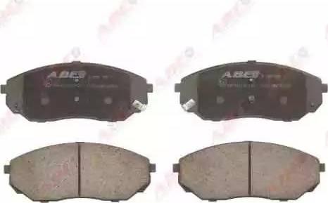 ABE C10317ABE - Kit de plaquettes de frein, frein à disque www.widencarpieces.com