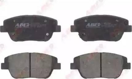 ABE C10335ABE - Kit de plaquettes de frein, frein à disque www.widencarpieces.com