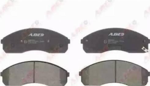 ABE C10325ABE - Kit de plaquettes de frein, frein à disque www.widencarpieces.com