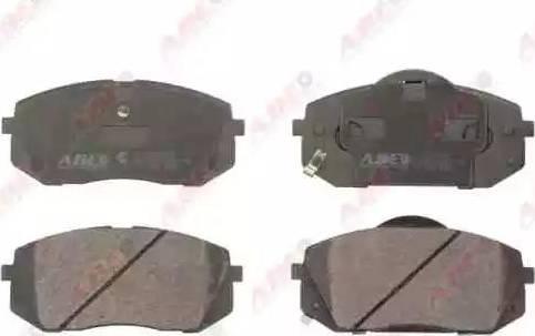 ABE C10326ABE - Kit de plaquettes de frein, frein à disque www.widencarpieces.com