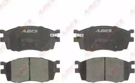 ABE C10323ABE - Kit de plaquettes de frein, frein à disque www.widencarpieces.com