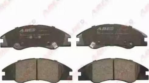 ABE C10322ABE - Kit de plaquettes de frein, frein à disque www.widencarpieces.com