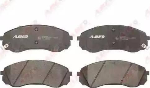 ABE C10327ABE - Kit de plaquettes de frein, frein à disque www.widencarpieces.com