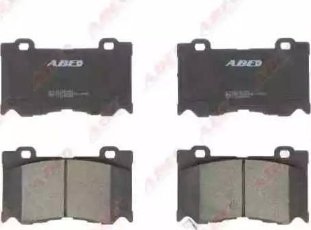 ABE C11095ABE - Kit de plaquettes de frein, frein à disque www.widencarpieces.com