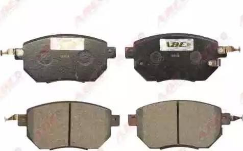 ABE C11093ABE - Kit de plaquettes de frein, frein à disque www.widencarpieces.com