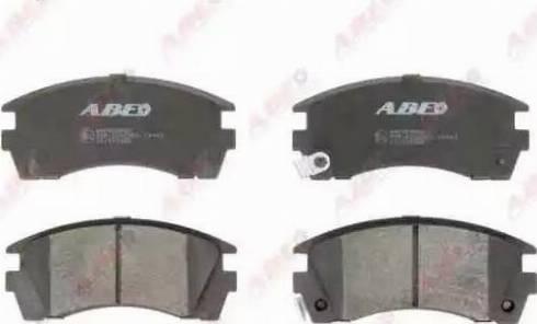 ABE C11049ABE - Kit de plaquettes de frein, frein à disque www.widencarpieces.com