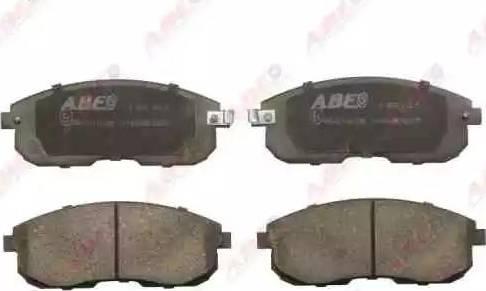 ABE C11044ABE - Kit de plaquettes de frein, frein à disque www.widencarpieces.com