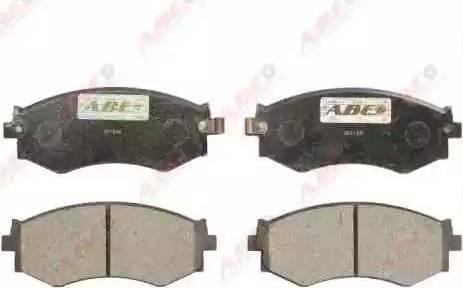ABE C11042ABE - Kit de plaquettes de frein, frein à disque www.widencarpieces.com