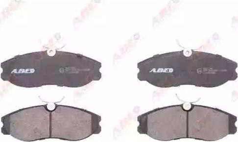 ABE C11056ABE - Kit de plaquettes de frein, frein à disque www.widencarpieces.com