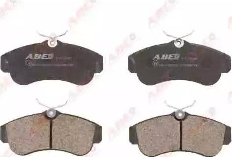 ABE C11051ABE - Kit de plaquettes de frein, frein à disque www.widencarpieces.com