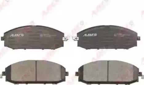 ABE C11064ABE - Kit de plaquettes de frein, frein à disque www.widencarpieces.com