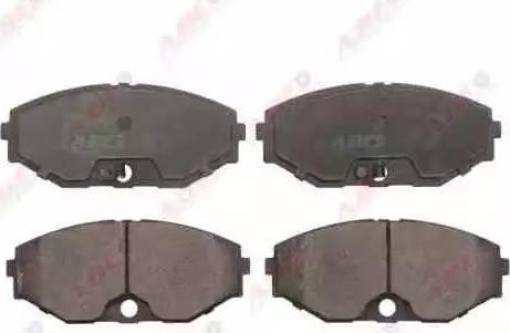 ABE C11065ABE - Kit de plaquettes de frein, frein à disque www.widencarpieces.com