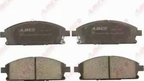 ABE C11066ABE - Kit de plaquettes de frein, frein à disque www.widencarpieces.com