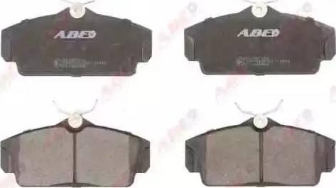 ABE C11062ABE - Kit de plaquettes de frein, frein à disque www.widencarpieces.com