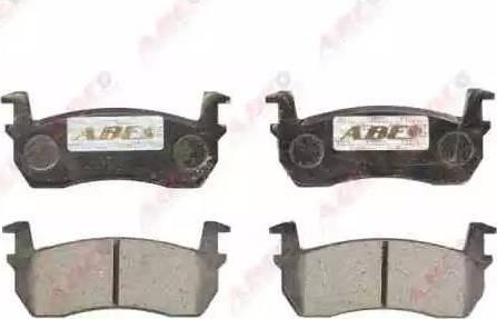 ABE C11003ABE - Kit de plaquettes de frein, frein à disque www.widencarpieces.com