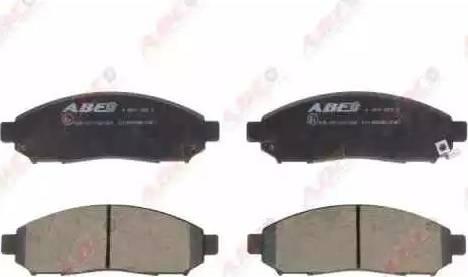 ABE C11089ABE - Kit de plaquettes de frein, frein à disque www.widencarpieces.com