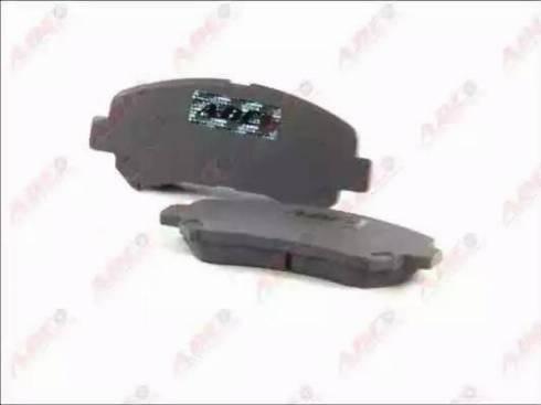 ABE C11086ABE - Kit de plaquettes de frein, frein à disque www.widencarpieces.com