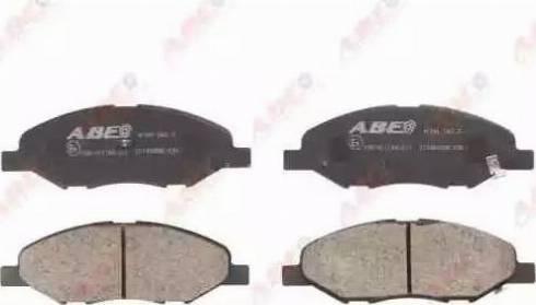 ABE C11080ABE - Kit de plaquettes de frein, frein à disque www.widencarpieces.com