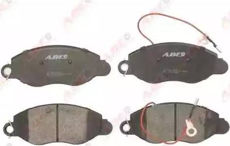 ABE C11087ABE - Kit de plaquettes de frein, frein à disque www.widencarpieces.com