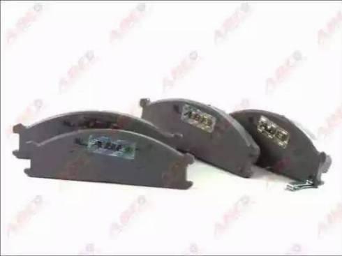 ABE C11039ABE - Kit de plaquettes de frein, frein à disque www.widencarpieces.com
