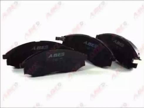 ABE C11079ABE - Kit de plaquettes de frein, frein à disque www.widencarpieces.com