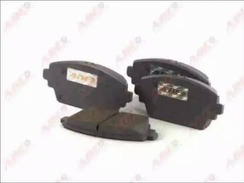 ABE C11070ABE - Kit de plaquettes de frein, frein à disque www.widencarpieces.com