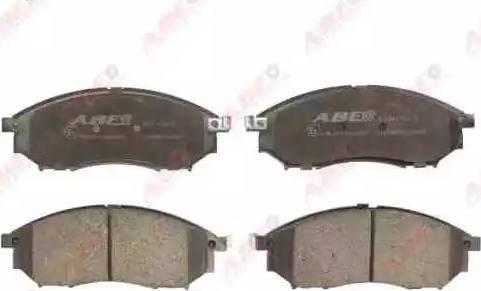 ABE C11078ABE - Kit de plaquettes de frein, frein à disque www.widencarpieces.com